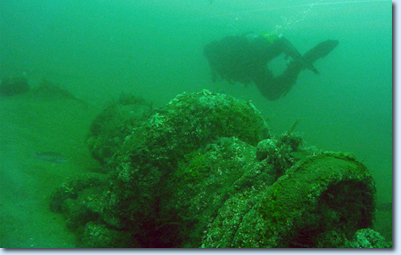 Long Island Wreck diving
