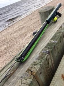Roller speargun